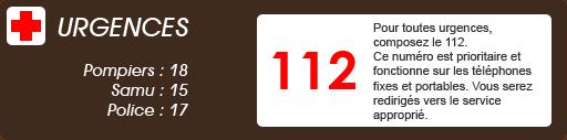 Numéros Urgences